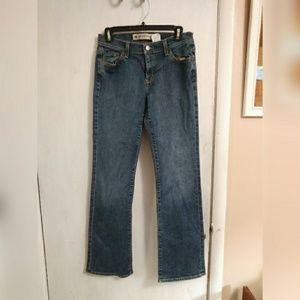 GAP low rise bootcut jeans